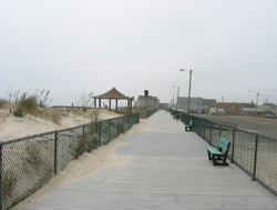 the boardwalk at ortley beach